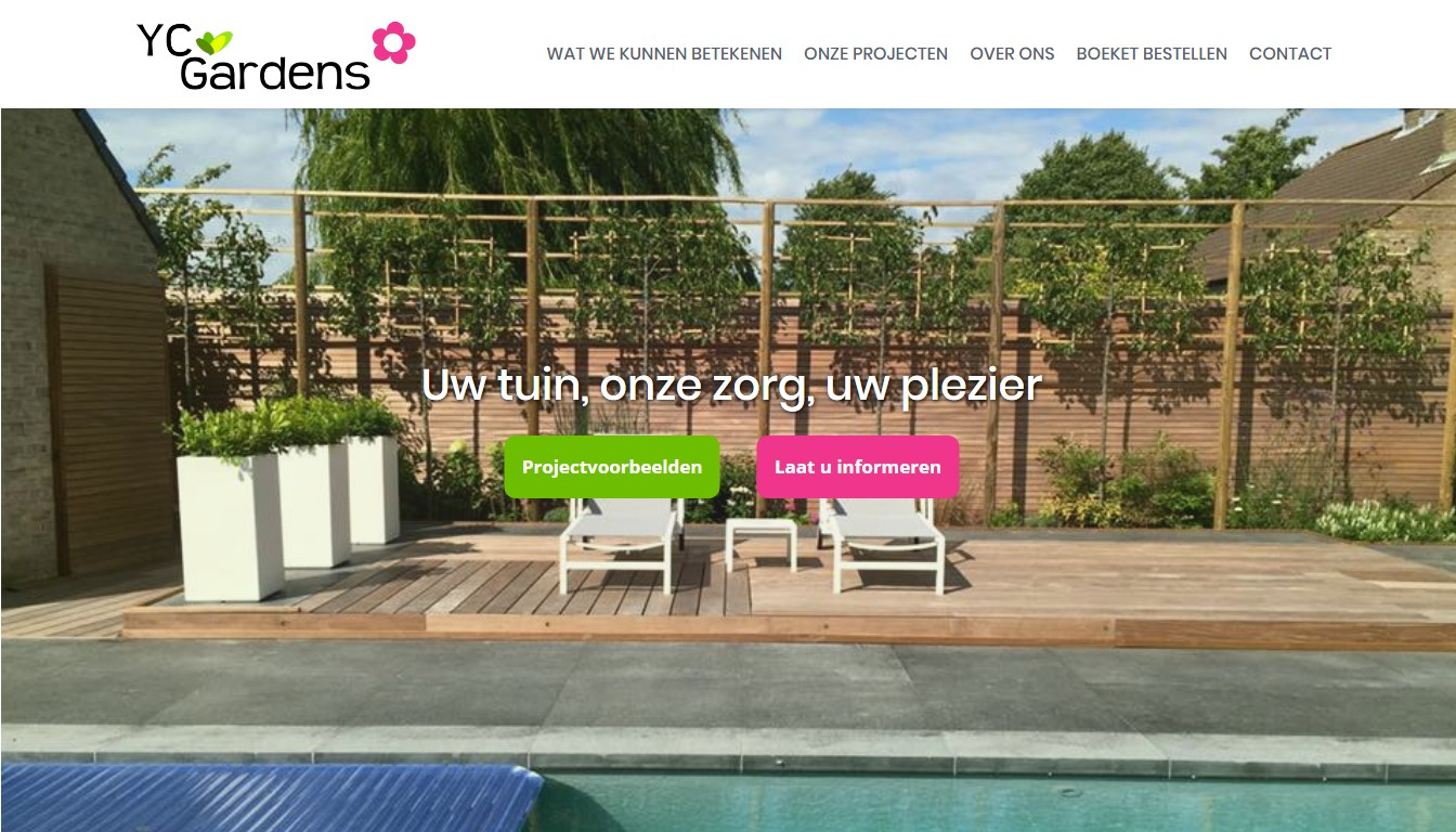 Website YC Gardens